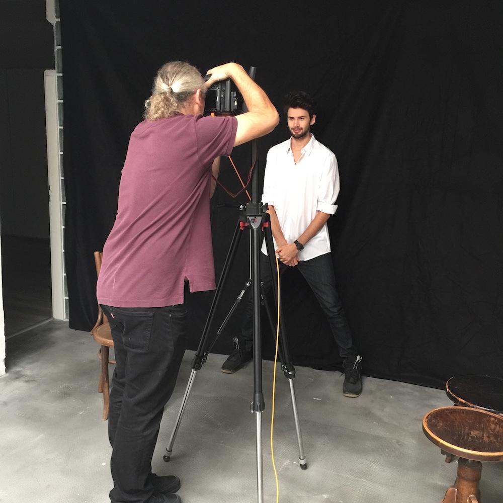 Making Of Fotos